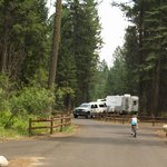 Camping in the RV Campground