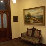 Lobby area at DeSoto House
