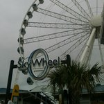 Sky Wheel, cloudy first day!