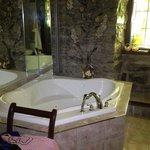 La superbe salle de bains...