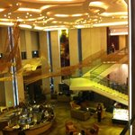 Another view of the Intercontinental Hotel lobby