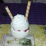 Italian rice pudding with fresh strawberries- Delish!