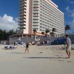 Hotel - beach view