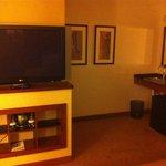 TV Center and Desk/Closet area