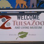 Tulsa Zoo sign