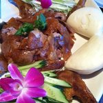 Duck with lotus buns!!!