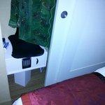 narrow closet