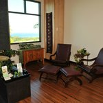 Enjoy the ocean view in our relaxation lounge