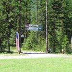 Glacier Haven RV and Campground entrance
