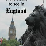 Great places to see in England