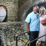 I am with my husband in the cellar with pound of trouts