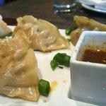 Fabulous veggie dumplings