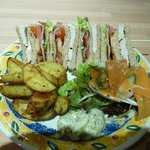 The well-adorned Club Sandwich