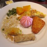Some of the foods we tasted from the buffet breakfast