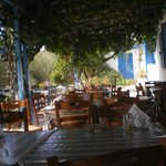 argo restaurant in summer, cool and relaxed