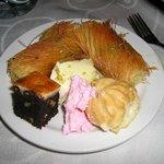 hotel dinner buffet dessert