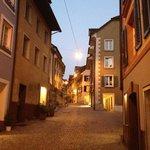 Malerische Altstadt vor der Tür...