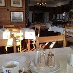 Gastraum mit Super Frühstückskaffee!!!