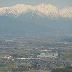 松本市アルプス公園からの眺望