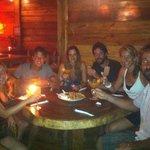 Cena de amigo en Alma