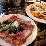 Aperitivo and Pasta Michele w/ Salmon