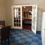 Commodore Lounge for upper level suites