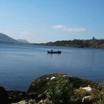 Fisherman on Caragh Lake , Kerry., Ireland