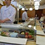 Ground floor sushi bar