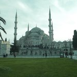 blue mosque at the walking distance