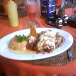 Enchiladas were great