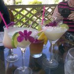 Lovely drinks on the lanai at The Grove