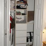 I LOVED the closet!