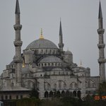 View from Hotel trace Blue Mosque