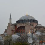 View from hotel Hajia Sofia mosque