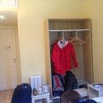 Small Closet, and a safe