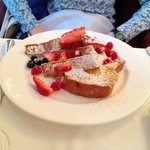 Lemon brioche French toast