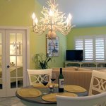 Imagine yourself in the Key Lime Suite