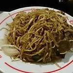 Fried egg noodle with Beef
