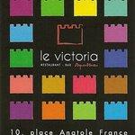 Carte de visite du restaurant : le Victoria