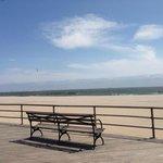 View of Coney Island Beach