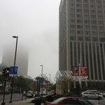 a fogghy day