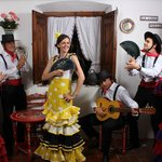 """Have your picture taken in our """"tablao"""" Flamenco"""
