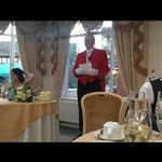 Walter the toastmaster