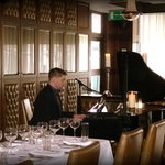 Resident Pianist in our Restaurant