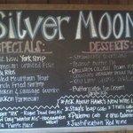 Silver Moon Menu