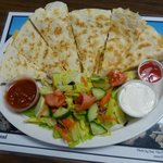 Best  Chicken Quesadilla EVER!