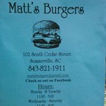 Foto di Matt's Old Fashioned Burgers and Chili
