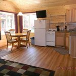 Cabins are clean and modern