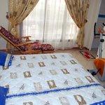 Chambre Prestige à l'hôtel Séréna Palace