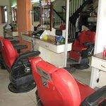 Salon de coiffure de l'hôtel Séréna, chez WILLIAMS